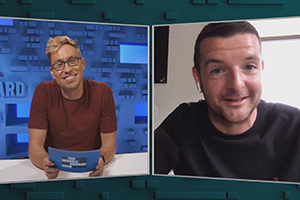 The Russell Howard Hour. Image shows from L to R: Russell Howard, Kevin Bridges. Copyright: Avalon Television.