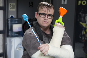 Scot Squad. Bobby Muir (Darren Connell). Copyright: The Comedy Unit.