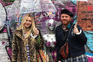 Shopping With Keith Lemon. Image shows from L to R: Fearne Cotton, Leigh Francis.