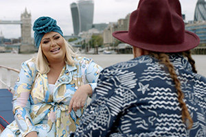 Shopping With Keith Lemon. Image shows from L to R: Gemma Collins, Leigh Francis.