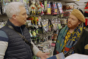Shopping With Keith Lemon. Image shows from L to R: John Barrowman, Leigh Francis.