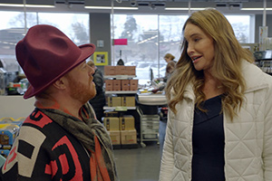 Shopping With Keith Lemon. Image shows from L to R: Leigh Francis, Caitlyn Jenner.
