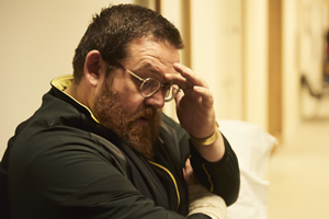 Sick Note. Dr Iain Glennis (Nick Frost). Copyright: King Bert Productions.