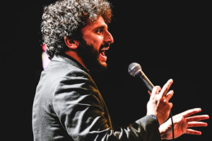 Stand Up At BBC Wales. Nish Kumar.