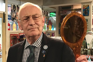 Still Open All Hours. Mr Newbold (Geoffrey Whitehead). Copyright: BBC.