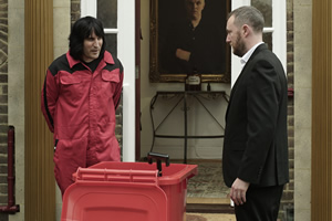 Taskmaster. Image shows from L to R: Noel Fielding, Alex Horne. Copyright: Avalon Television.
