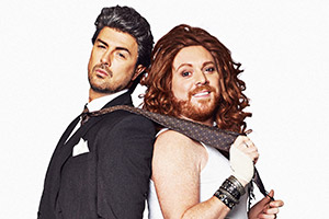 The Keith & Paddy Picture Show. Image shows from L to R: Paddy McGuinness, Leigh Francis. Copyright: Talkback.