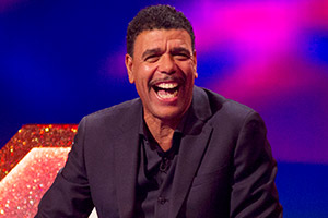 Through The Keyhole. Chris Kamara. Copyright: Talkback.