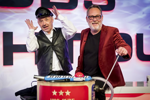 Vic & Bob's Big Night Out. Image shows from L to R: Bob Mortimer, Vic Reeves.