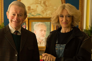 The Windsors. Image shows from L to R: Charles (Harry Enfield), Camilla (Haydn Gwynne).