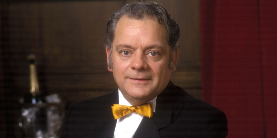 A Bit Of A Do. Ted Simcock (David Jason). Copyright: Yorkshire Television.