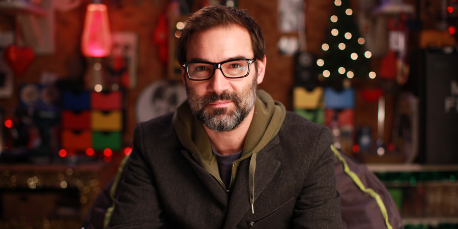 Adam Buxton's Shed Of Christmas. Adam Buxton. Copyright: Burning Bright Productions.