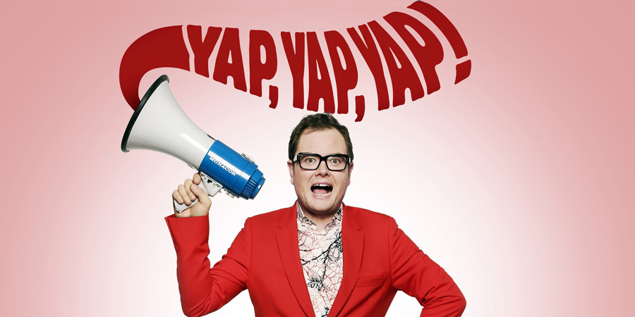Alan Carr Yap, Yap, Yap!. Alan Carr. Copyright: Open Mike Productions.