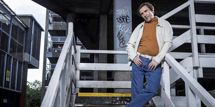 Alan Partridge's Scissored Isle. Alan Partridge (Steve Coogan). Copyright: Baby Cow Productions.