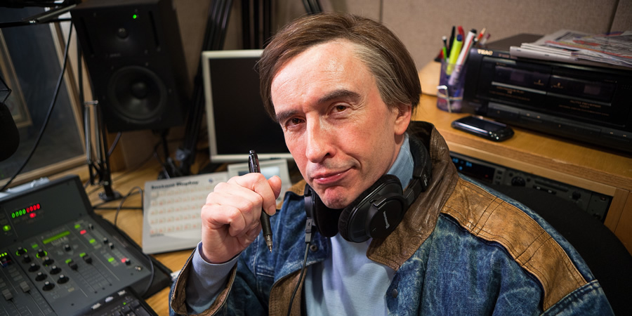 Mid Morning Matters With Alan Partridge. Alan Partridge (Steve Coogan). Copyright: Baby Cow Productions.