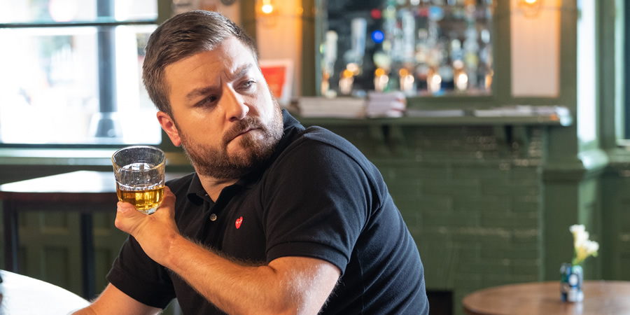 Alex Brooker's Comedy Short. Alex (Alex Brooker). Copyright: Open Mike Productions.
