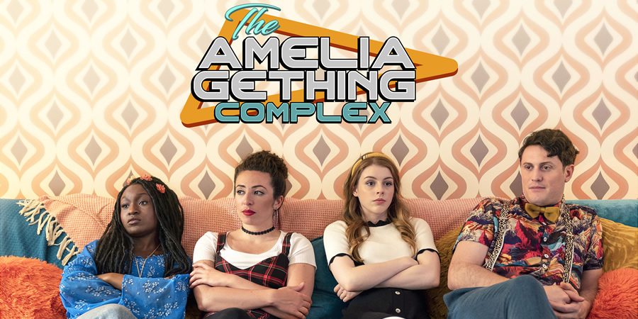 The Amelia Gething Complex. Image shows from L to R: Poppy (Natalia Hinds), Vinny (Jasmin Hinds), Amelia (Amelia Gething), Wallace (Alex Griffin-Griffiths).