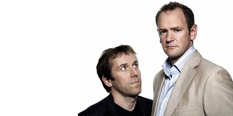 The Armstrong & Miller Show. Image shows from L to R: Ben Miller, Alexander Armstrong.