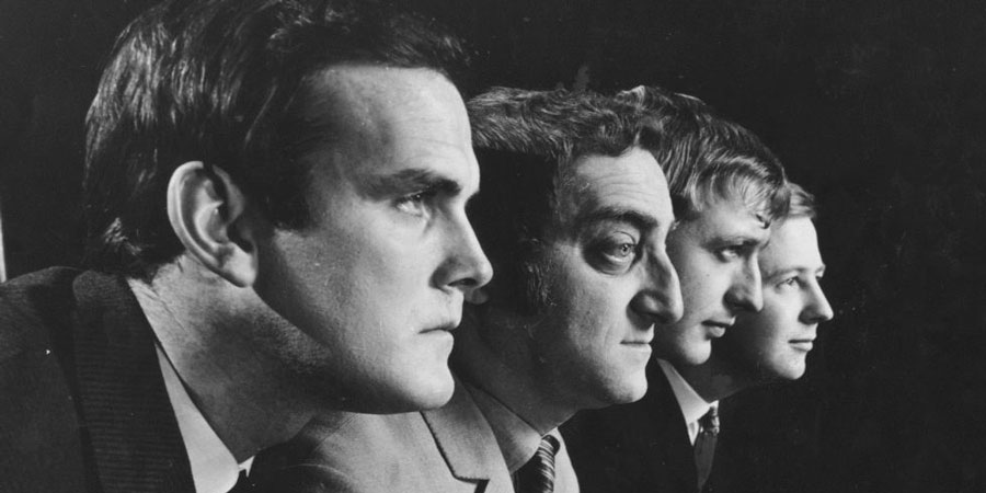 At Last The 1948 Show. Image shows from L to R: John Cleese, Marty Feldman, Graham Chapman, Tim Brooke-Taylor. Copyright: Rediffusion London.