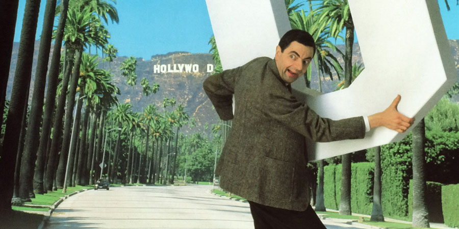 Bean - The Ultimate Disaster Movie. Mr. Bean (Rowan Atkinson). Copyright: Tiger Aspect Productions / Working Title Films.