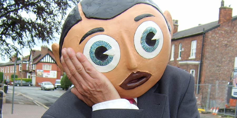 Being Frank: The Chris Sievey Story. Chris Sievey. Copyright: Rondo.