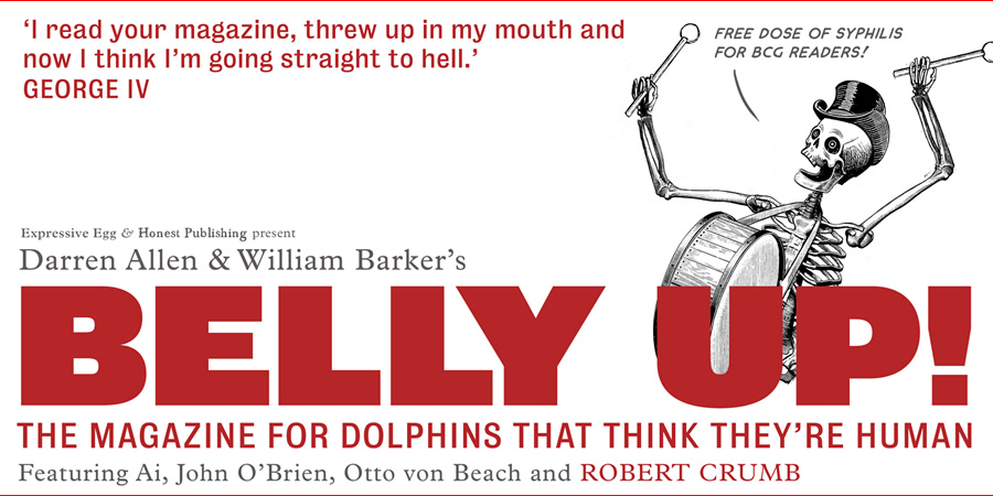 Belly Up!. Copyright: Honest Publishing.