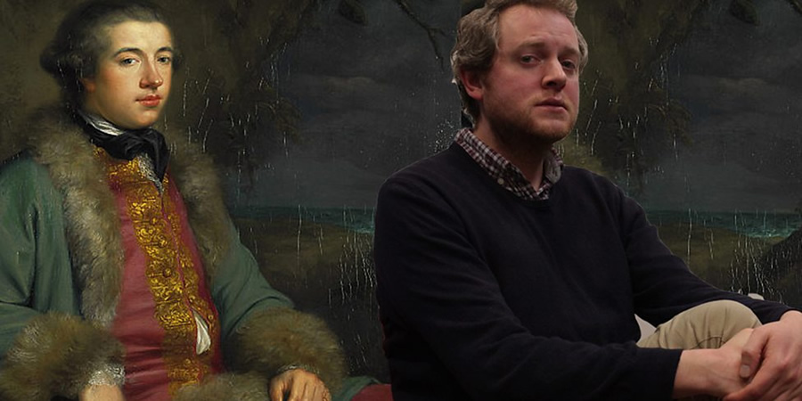 Boswell's Lives. James Boswell (Miles Jupp). Copyright: BBC.
