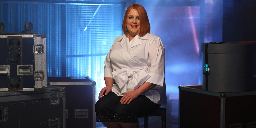 Britain's Got The Pop Factor And Possibly A New Celebrity Jesus Christ Soapstar Superstar Strictly On Ice. Geraldine McQueen (Peter Kay).