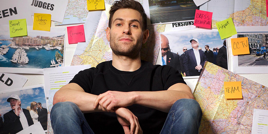 Britain's Greatest Hoaxer. Simon Brodkin. Copyright: Avalon Television.