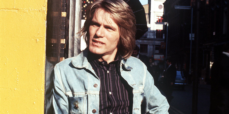 Budgie. Budgie Bird (Adam Faith). Copyright: London Weekend Television.