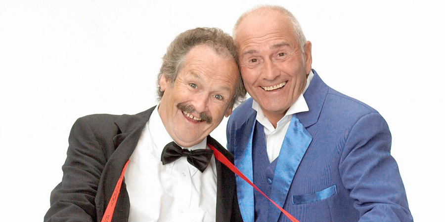 Cannon & Ball. Image shows from L to R: Bobby Ball, Tommy Cannon.