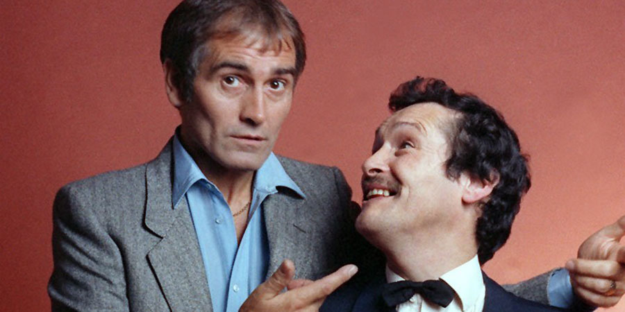 Cannon And Ball. Image shows from L to R: Tommy Cannon, Bobby Ball. Copyright: Rex.