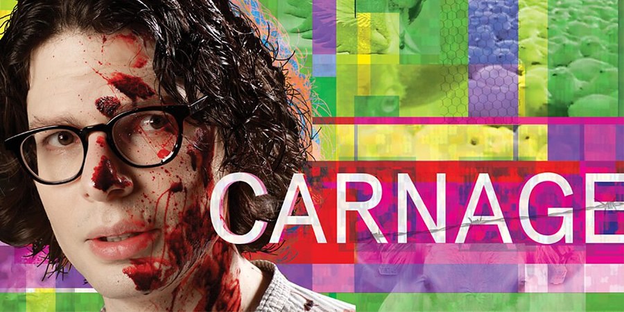 Carnage - Swallowing The Past. Simon Amstell. Copyright: BBC.