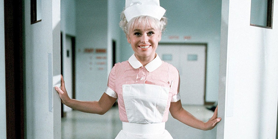 Carry On Doctor. Nurse Sandra May (Barbara Windsor). Copyright: Peter Rogers Productions.