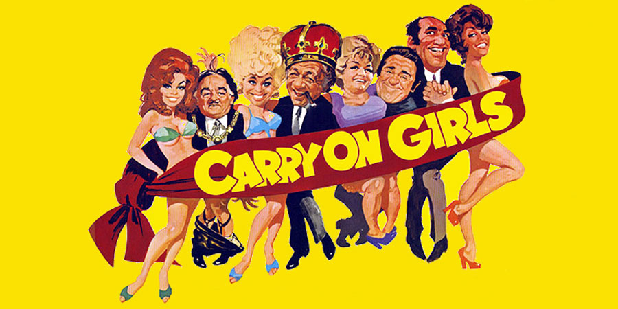 Carry On Girls. Copyright: Peter Rogers Productions / ITV Studios.