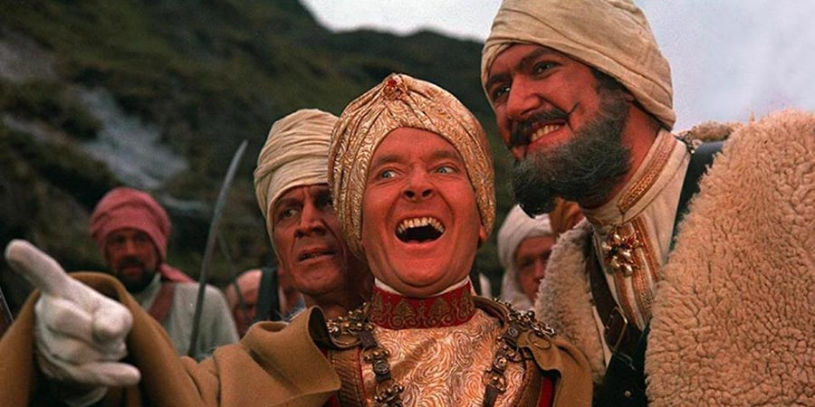 Carry On... Up The Khyber. Image shows from L to R: Kenneth Williams, Bernard Bresslaw. Copyright: Peter Rogers Productions.