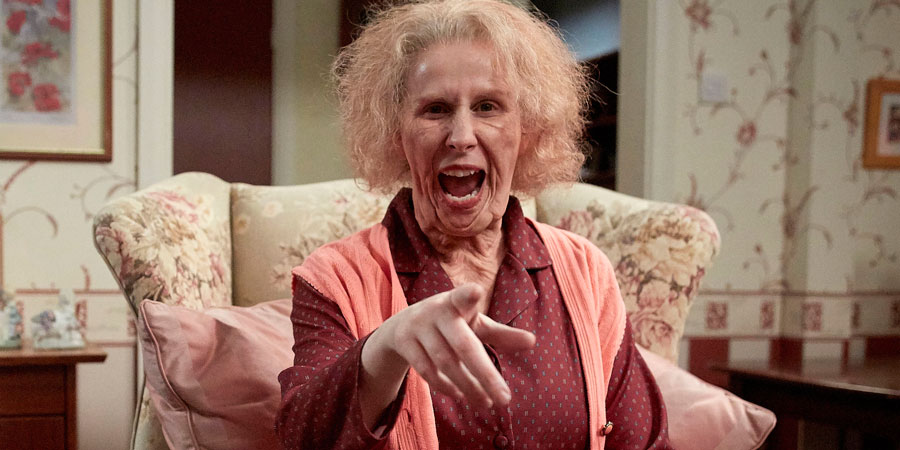 Catherine Tate's Nan. Nan (Catherine Tate). Copyright: Tiger Aspect Productions.