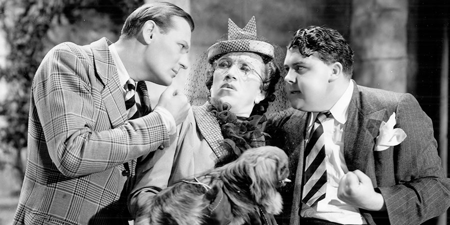 Charley's (Big-Hearted) Aunt. Image shows from L to R: Stinker Burton (Richard Murdoch), Arthur Linden (Arthur Askey), Albert Brown (Graham Moffatt). Copyright: Gainsborough Pictures 1928 Limited.