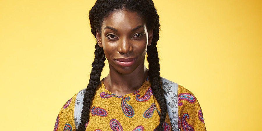 Chewing Gum. Tracey Gordon (Michaela Coel). Copyright: Retort.