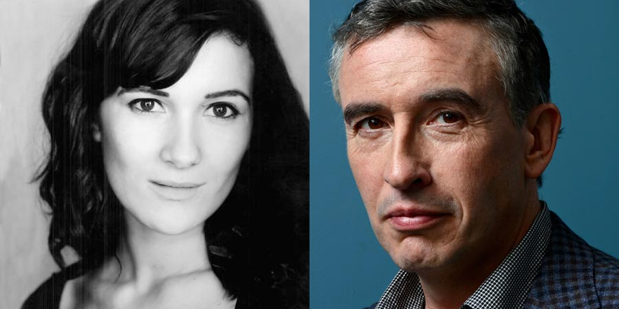 Chivalry. Image shows from L to R: Bobby (Sarah Solemani), Cameron (Steve Coogan).