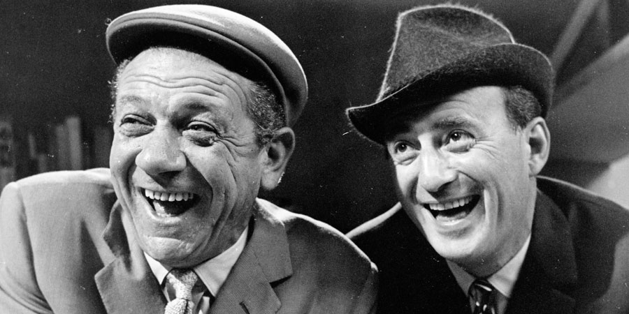 Citizen James. Image shows from L to R: Sid (Sid James), Charlie Davenport (Sydney Tafler). Copyright: BBC.