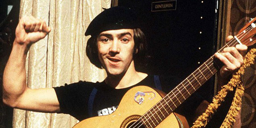 Citizen Smith. Wolfie Smith (Robert Lindsay). Copyright: BBC.