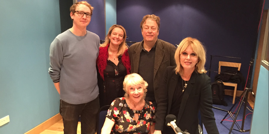 Conversations From A Long Marriage. Image shows from L to R: Nick Coupe, Claire Jones, Jan Etherington, Roger Allam, Joanna Lumley. Copyright: BBC.
