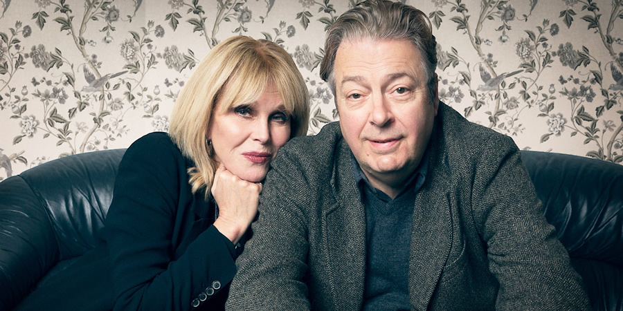 Conversations From A Long Marriage. Image shows from L to R: Wife (Joanna Lumley), Husband (Roger Allam). Copyright: BBC.