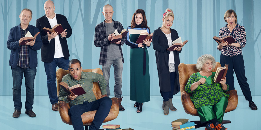 Crackanory. Image shows from L to R: Bob Mortimer, Dara O Briain, Doc Brown, Mackenzie Crook, Anna Friel, Sheridan Smith, Miriam  <a class='fecha' href='https://wallinside.com/post-57439247-crackanory-series-4-interviews.html'>read more...</a>    <div style='text-align:center' class='comment_new'><a href='https://wallinside.com/post-57439247-crackanory-series-4-interviews.html'>Share</a></div> <br /><hr class='style-two'>    </div>    </article>   <article class=