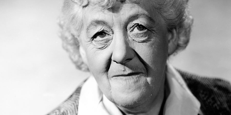 Curtain Up. Catherine Beckwith (Margaret Rutherford).