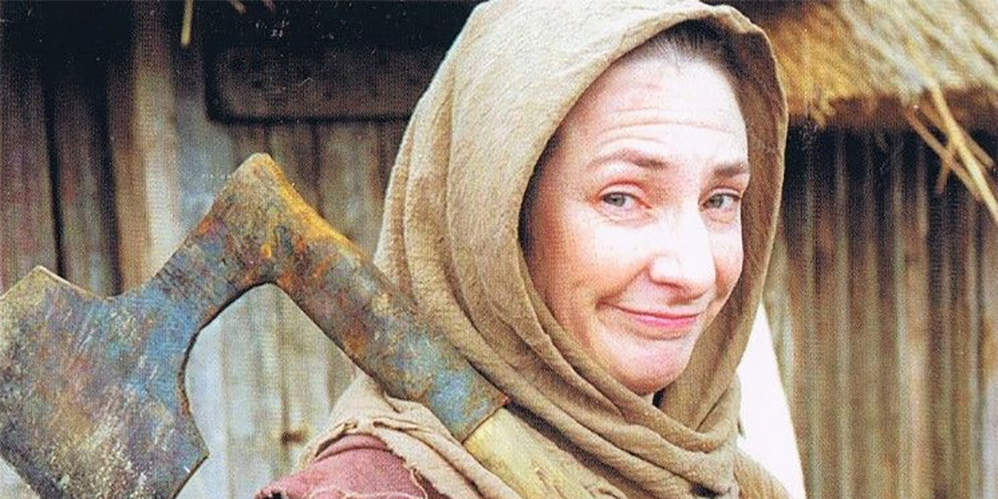 Dark Ages. Agnes (Pauline McLynn). Copyright: Granada Productions.