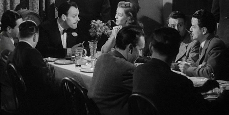 Date With A Dream. Image shows from L to R: Terry Thomas (Terry-Thomas), Jean Carson (Jean Carson), Len Lowe (Len Lowe), Bill Lowe (Bill Lowe). Copyright: Tempean Films.
