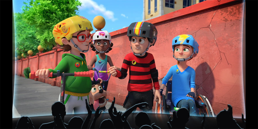 Dennis & Gnasher Unleashed! On The Big Screen. Copyright: Beano Studios.