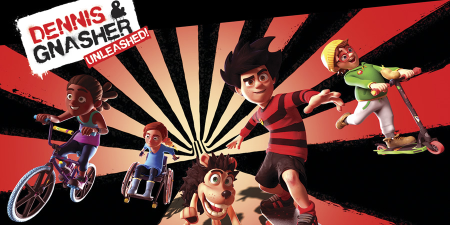 Dennis & Gnasher: Unleashed. Copyright: Beano Studios.
